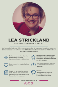 Lea Strickland Business Growth Expert